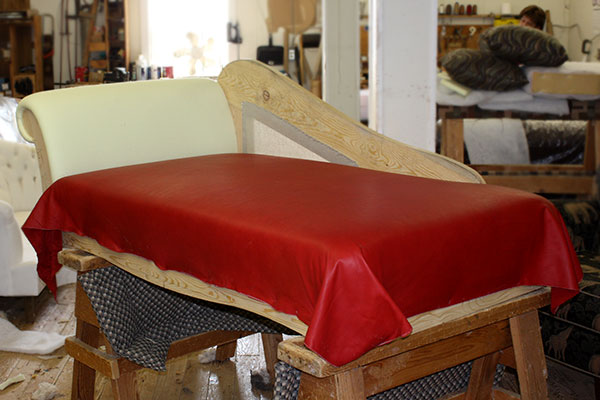 Red Sofa Transformation